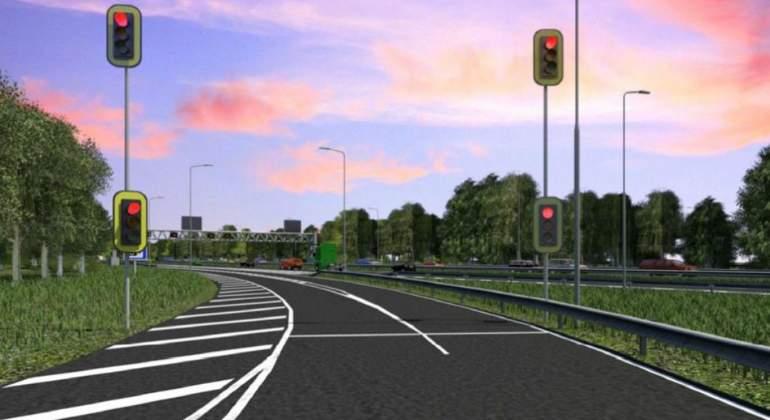 semaforos autopistas
