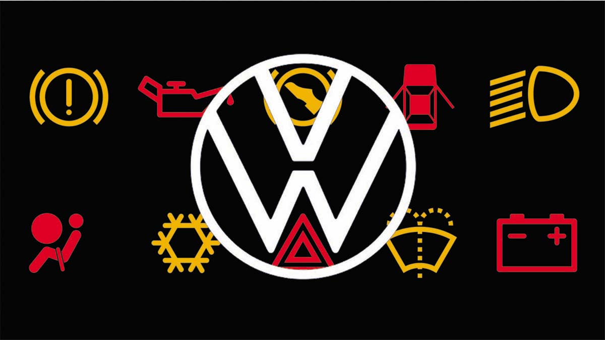 ¿Qué significan los testigos de los coches Volkswagen?