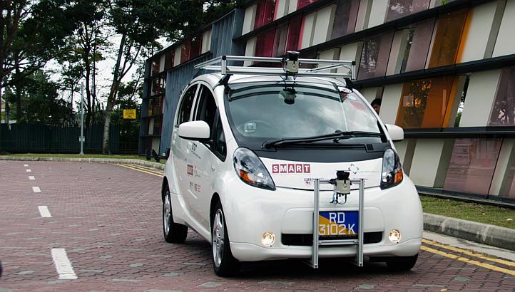 Así funciona el coche autónomo que circulará por Singapur