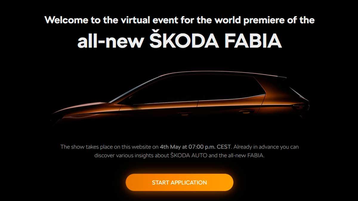 Nuevo Skoda Fabia 2022: sigue la presentación online en directo en Autofácil