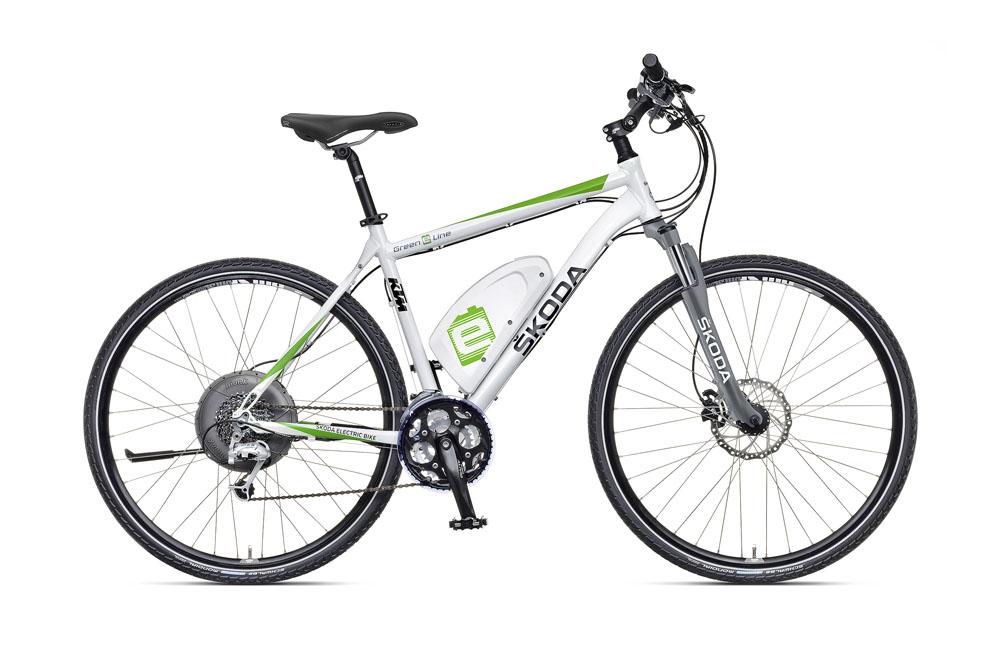 skoda presenta su primera bicicleta electrica