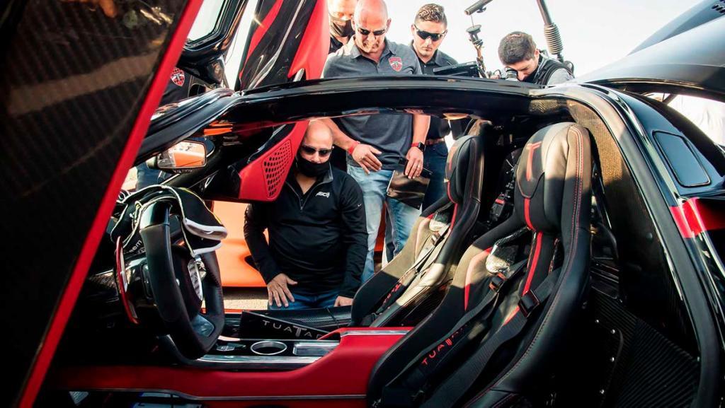 ssc tuatara becomes the fastest production car