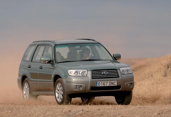 Subaru Forester 2.0X (2005)