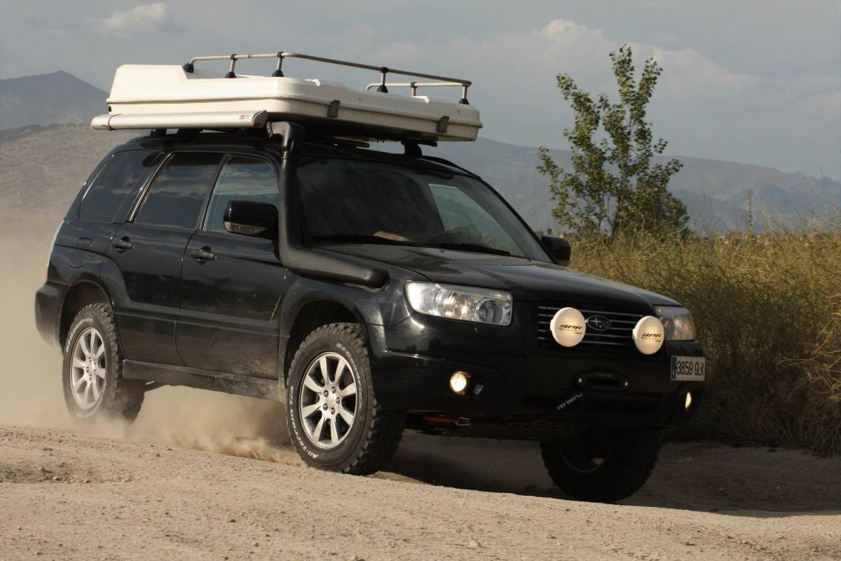 Preparación 4×4: Subaru Forester 2.0X