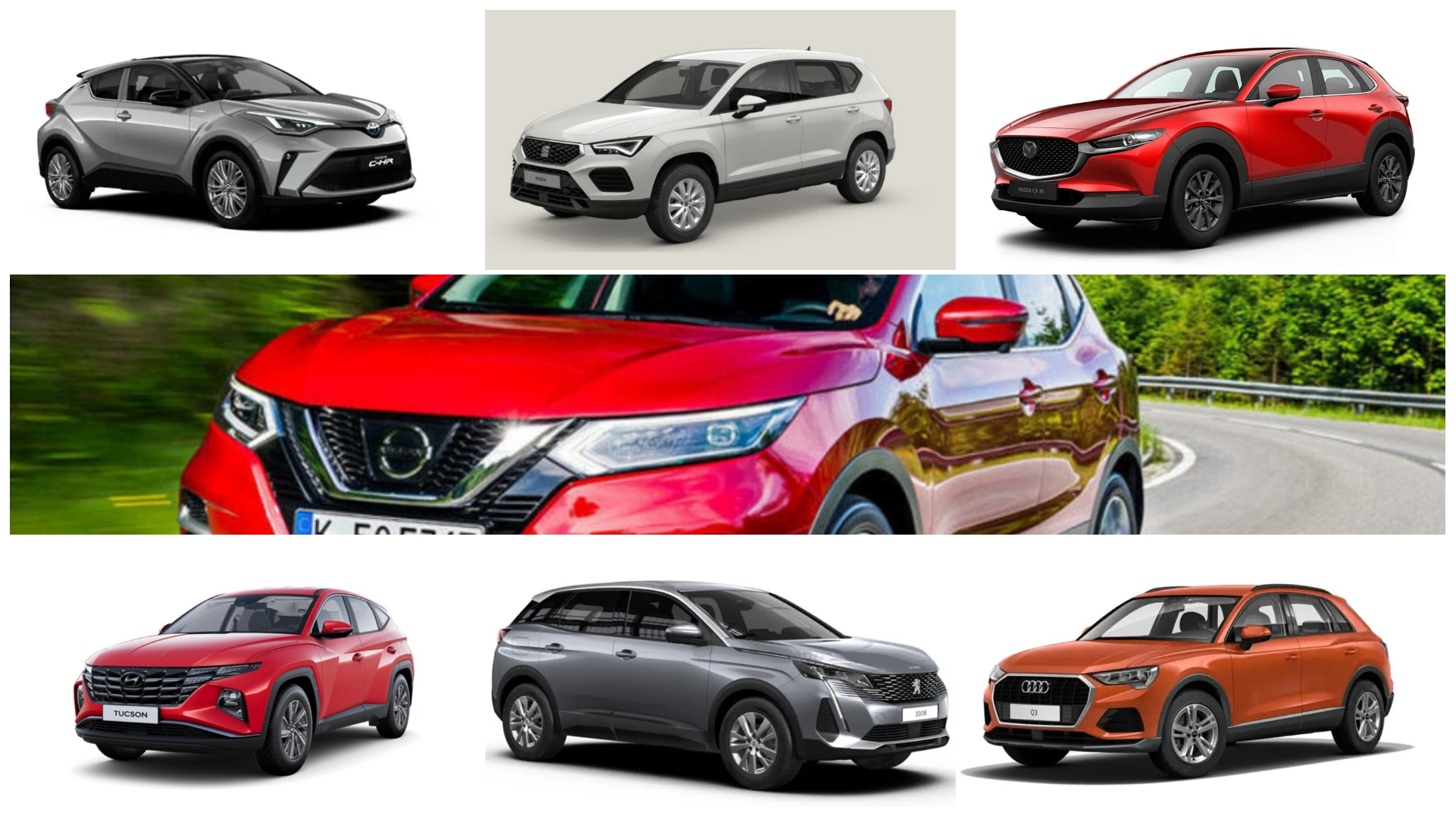 Analizamos 7 SUV compactos básicos, ¿cuándo interesan?