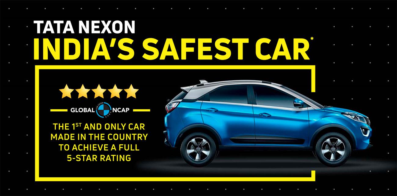 Tata Nexon: primer coche indio en lograr las cinco estrellas de seguridad