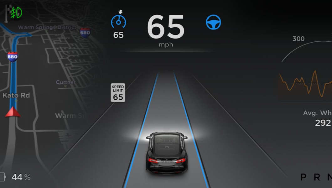 tesla model s autopilot software