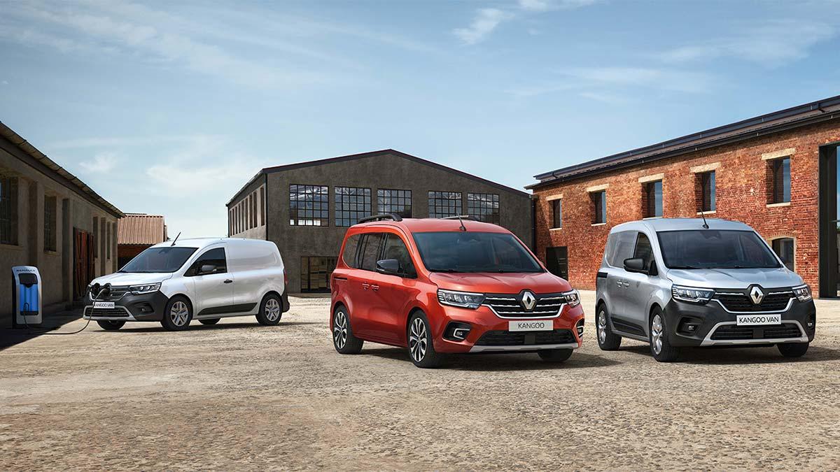 Nuevo Renault Kangoo 2021: el comercial francés se renueva al 100%