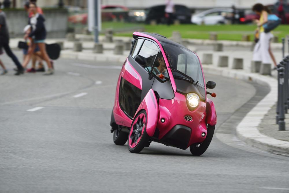 Toyota i-Road: El eléctrico más divertido