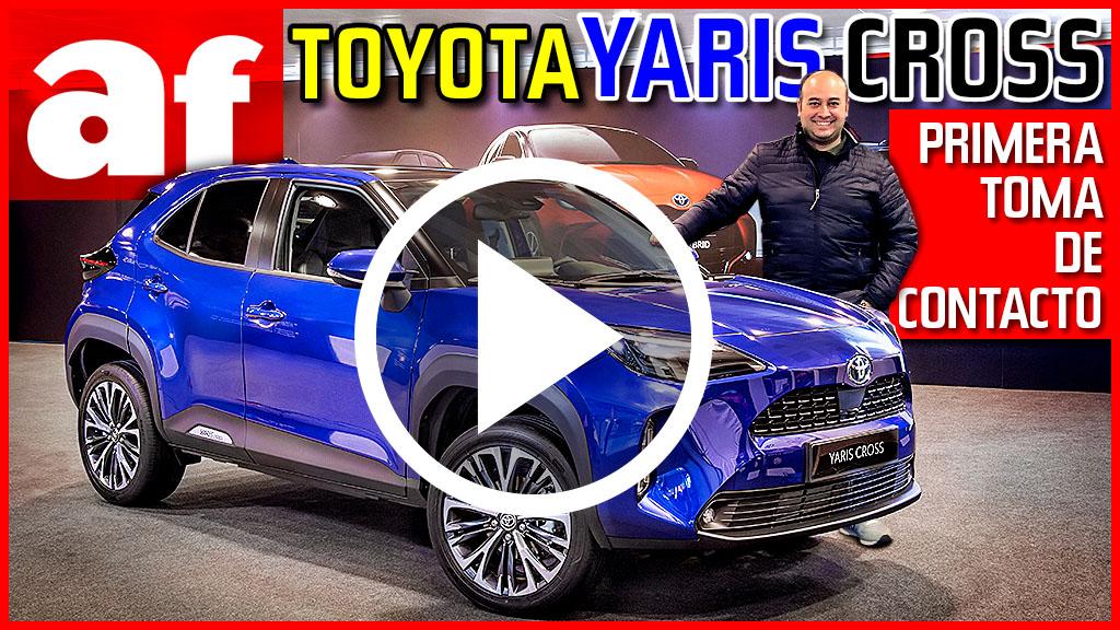 Vídeo Toyota Yaris Cross 2021: el SUV híbrido que le faltaba a Toyota