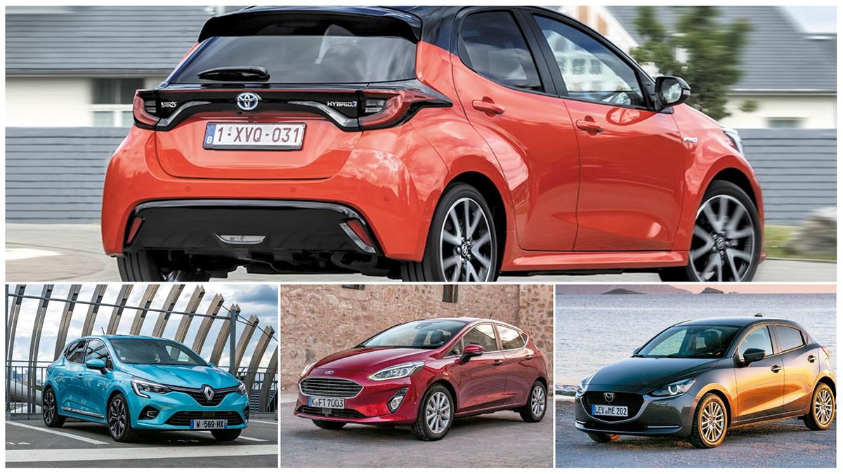 Toyota Yaris híbrido: estos son sus tres grandes rivales