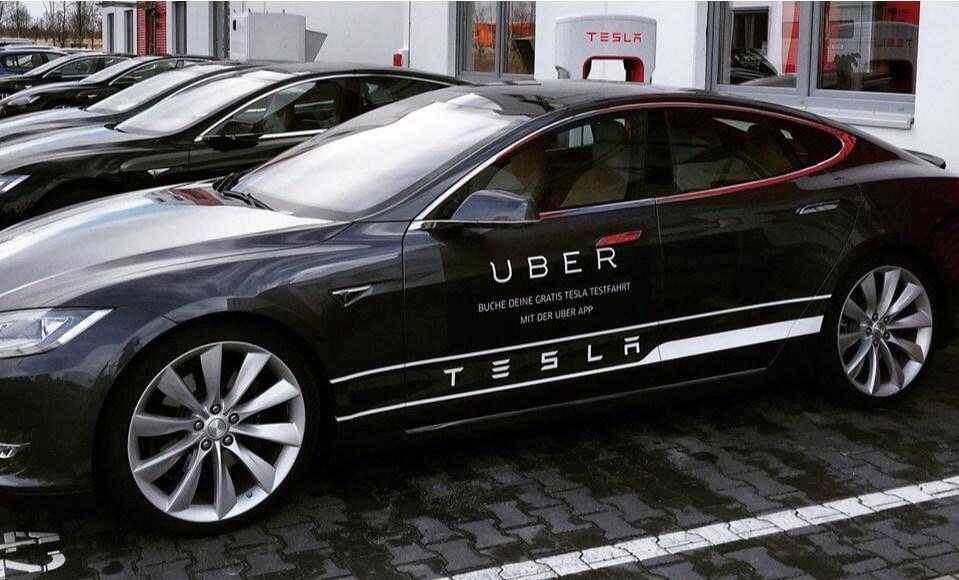 uber tesla disruptive technology 1