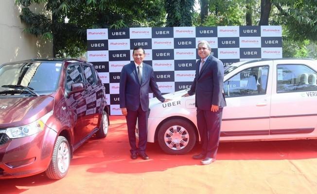 Uber y Mahindra se asocian en la India