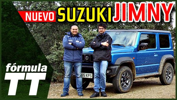 Vídeo: Prueba a fondo del Suzuki Jimny