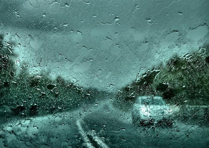 visibilidad en lluvia