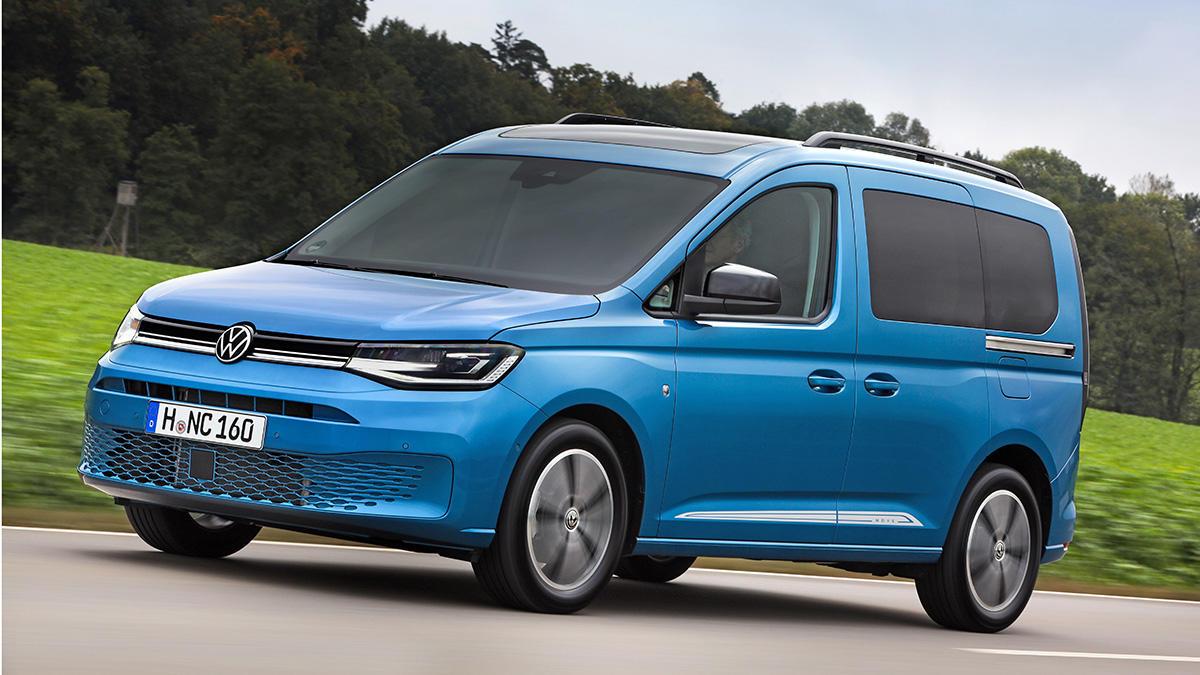 Nuevo Volkswagen Caddy 4Motion 2021: precios para España de la versión con tracción total