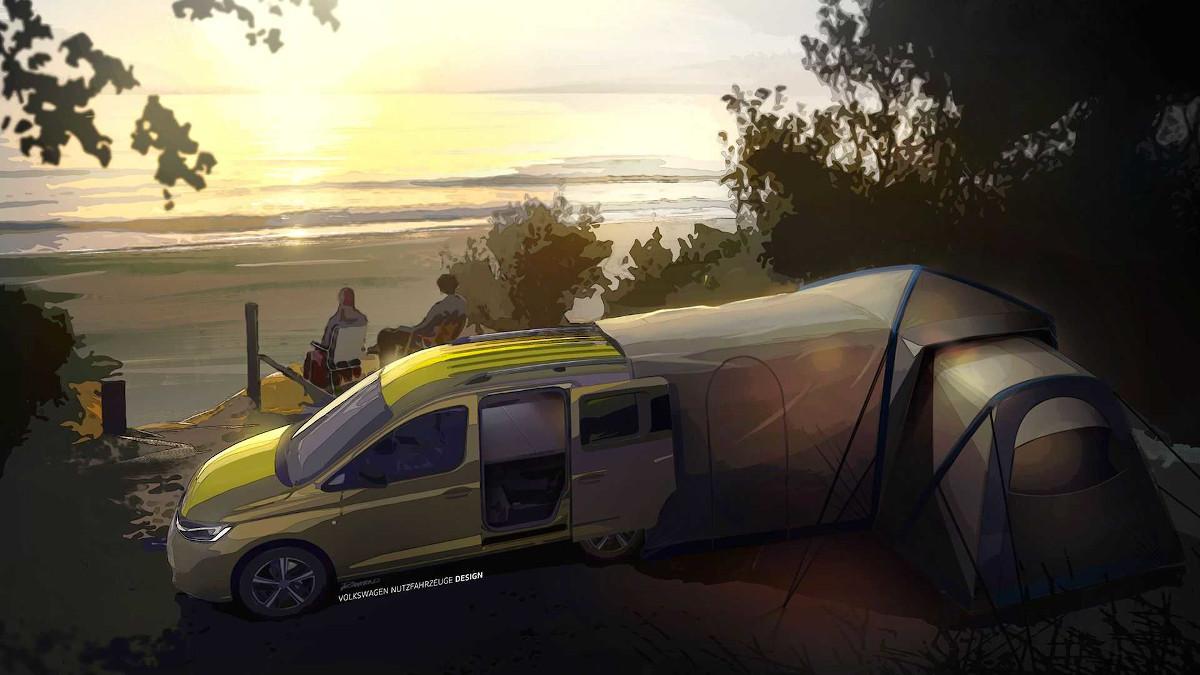 volkswagen caddy beach 2020 teaser