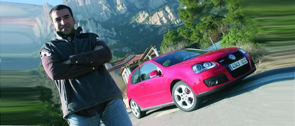 Jordi Gené prueba el Volkswagen Golf GTI