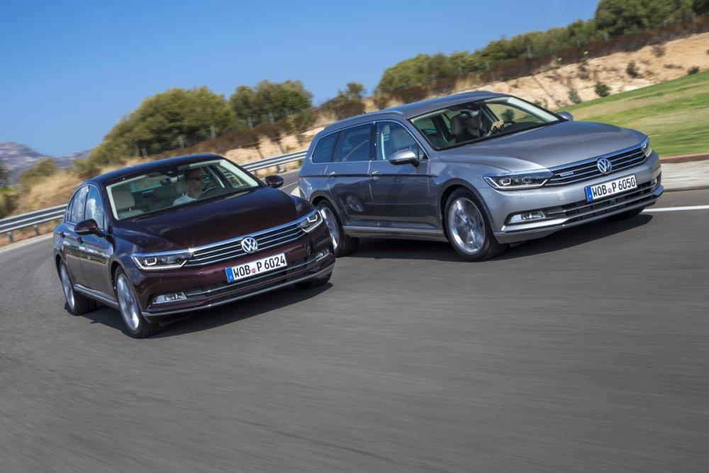 Prueba: Nuevo Volkswagen Passat 2015