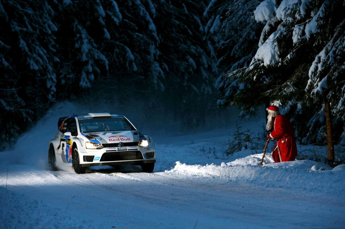 volkswagen polo r frontal rally suecia 1