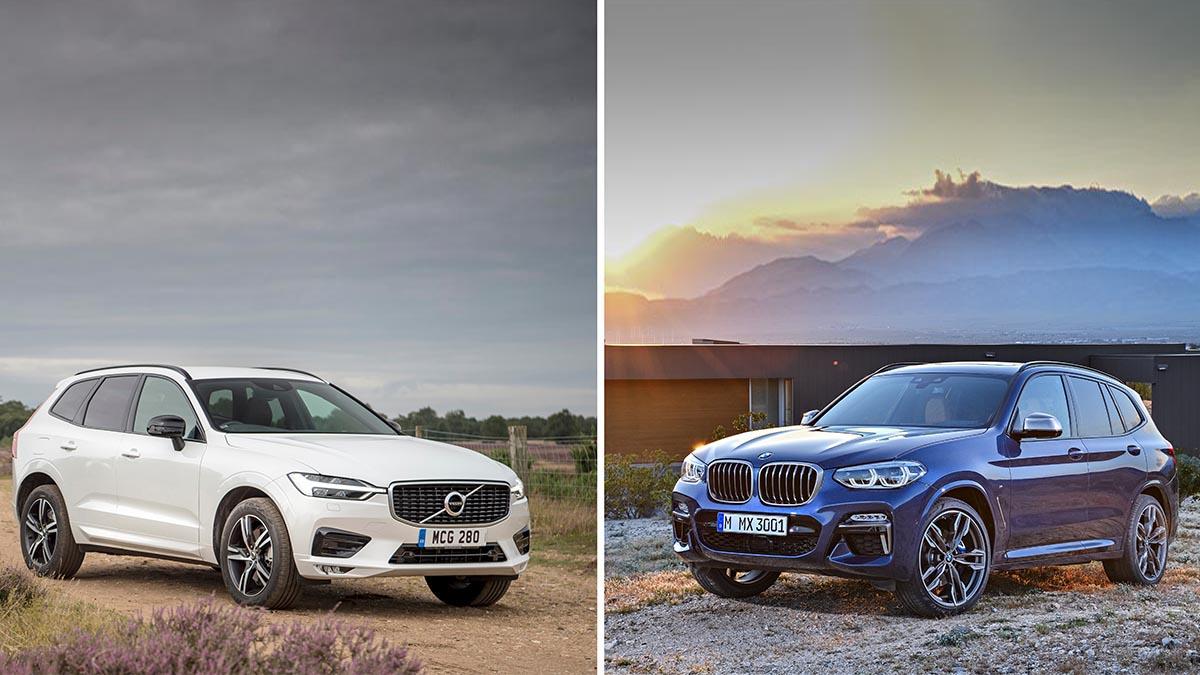¿Volvo XC60 o BMW X3 para recorrer 50.000 km al año?