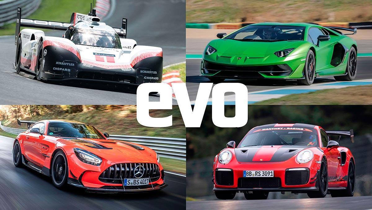 Las 10 vueltas a Nürburgring más rápidas de la historia