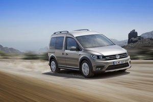 Volkswagen Caddy Alltrack: nuevos caminos