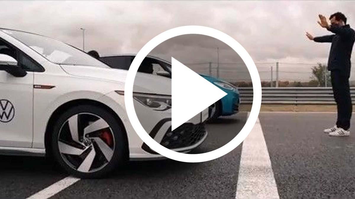 Volkswagen ID.3 vs. Golf GTI, ¿cuál acelera más rápido?