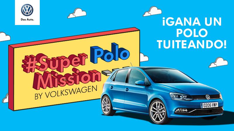 ¿Quieres ganar un Volkswagen Polo tuiteando?