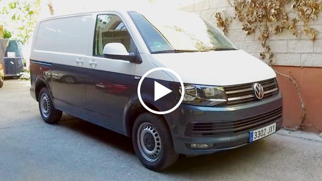 Vídeo: prueba del Volkswagen Transporter T6