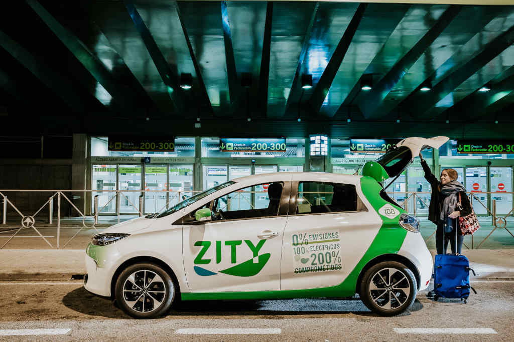 Zity amplía su zona de servicio a distritos del este y sureste de Madrid