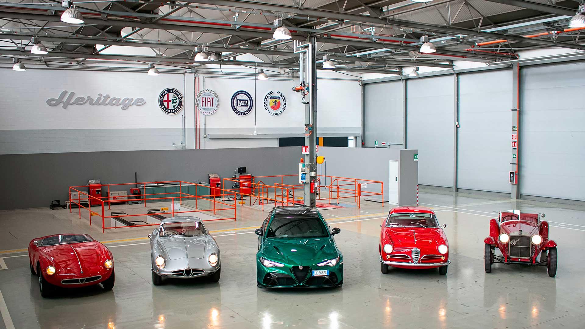 La alineación de Alfa Romeo para la 39ª edición de la mítica 1000 Miglia