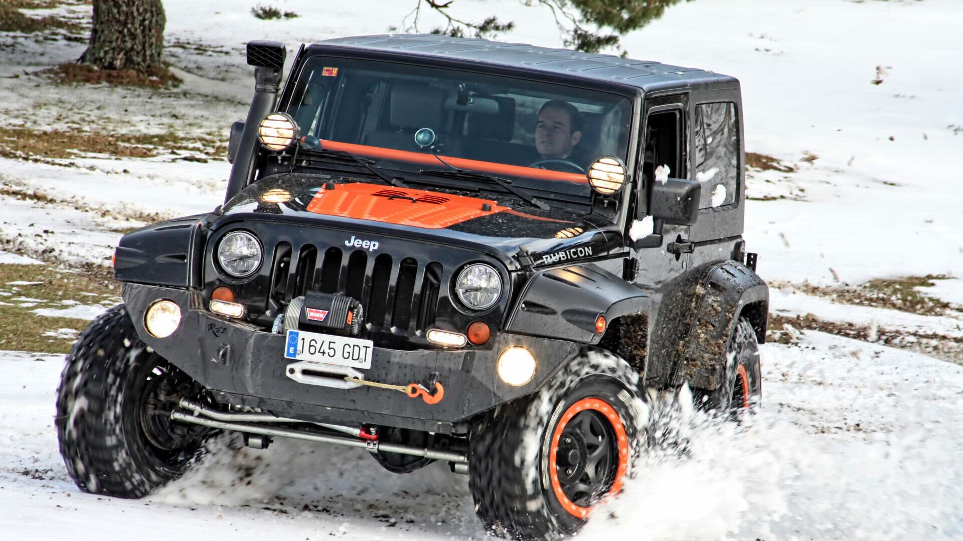 Preparación Jeep Wrangler JK Rubicon Barquilla: imparable