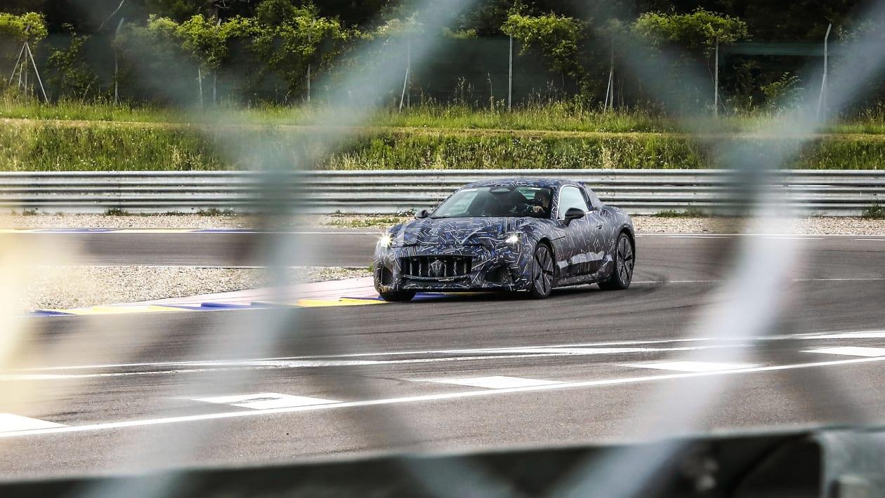 Fotos espía del Maserati GranTurismo 2021: adiós a las versiones de combustión