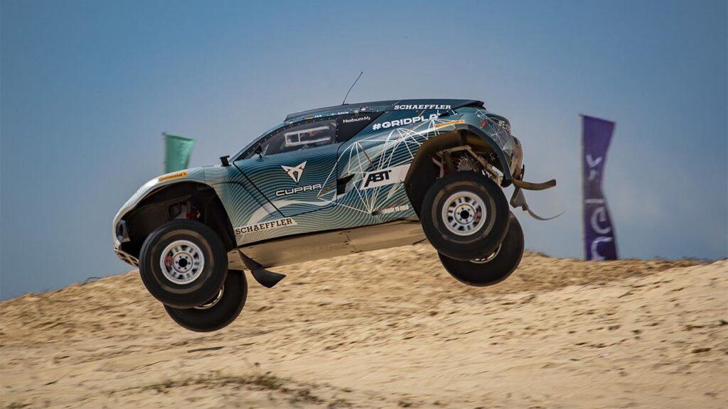Hubo abundante acción en el X Prix de Senegal.