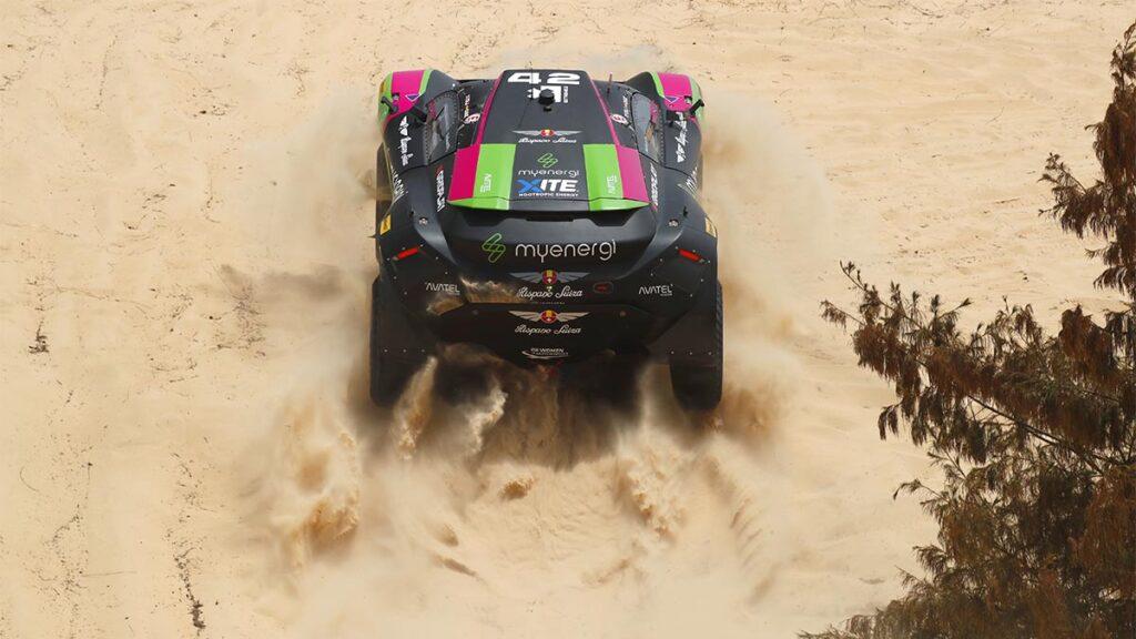 Extreme E Senegal Ocean X-Prix. Equipo Hispano Suiza.