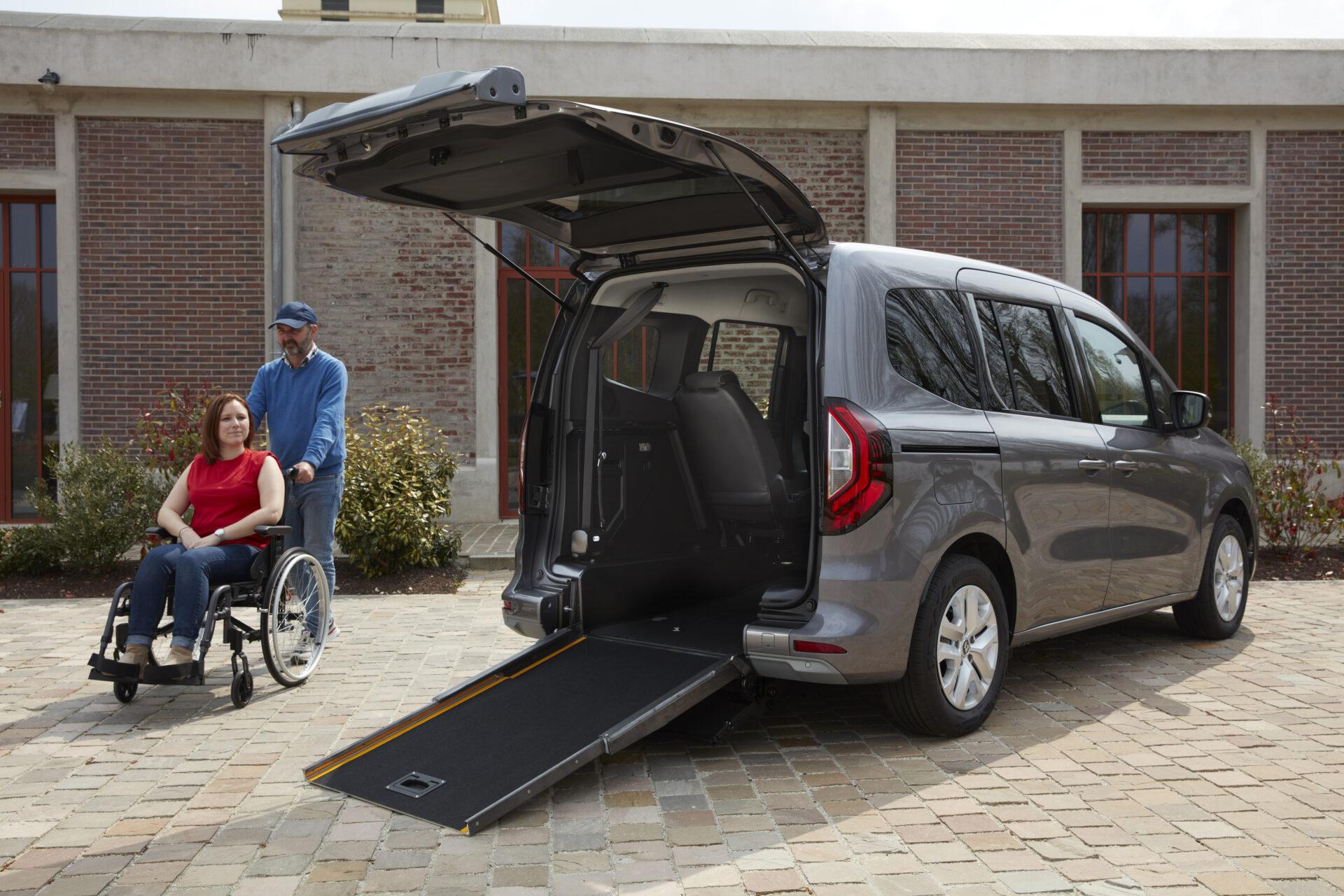 Nuevo Renault Kangoo TPMR 2021: así es la versión adaptada para personas con movilidad reducida