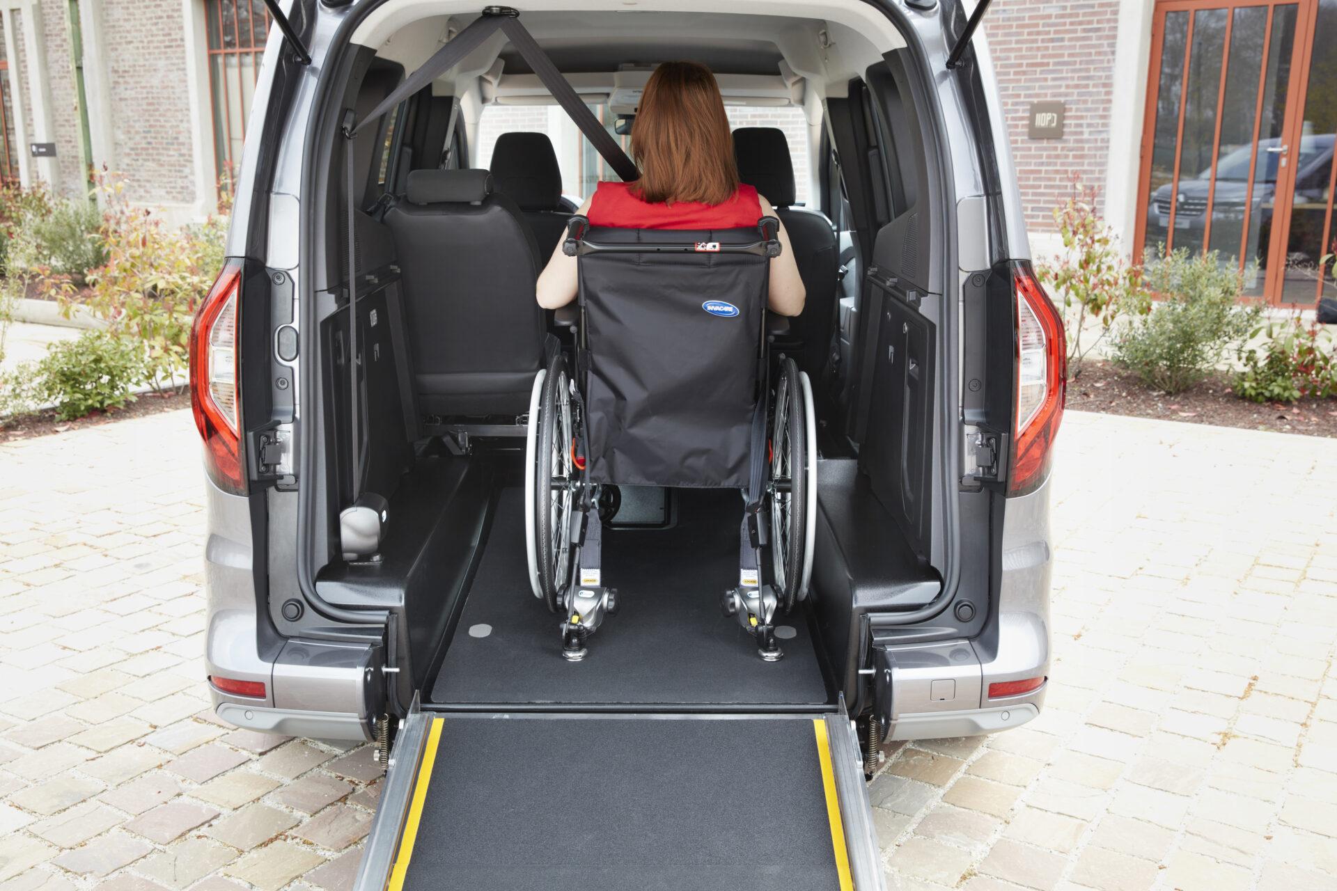 Renault Kangoo TPMR 2021: así es la versión adaptada para personas con movilidad reducida