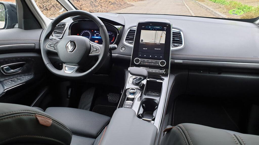 Renault Espace 2021 interior