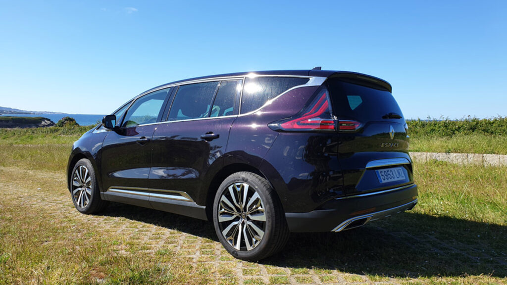 Renault Espace 2021 trasera