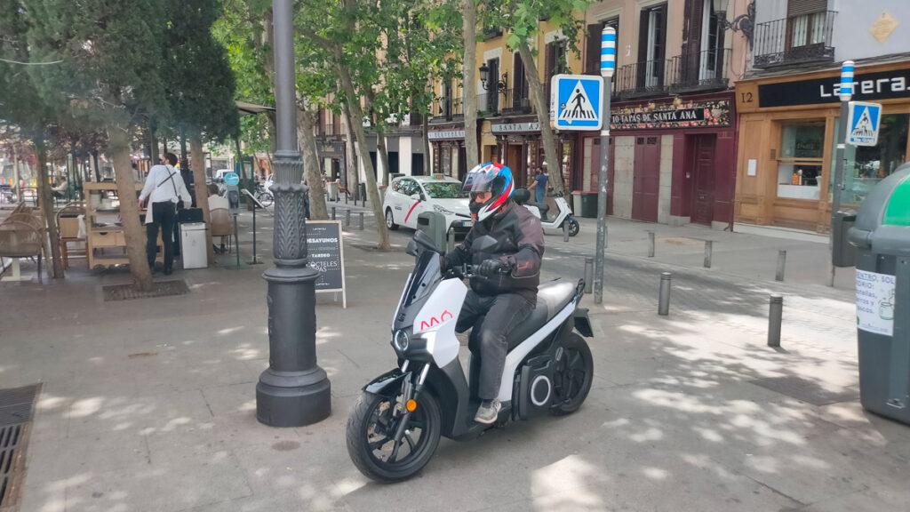 Seat Mó scooter reto movilidad