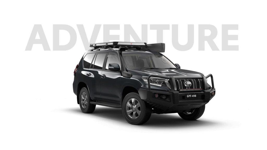 Toyota Land Cruiser para Australia