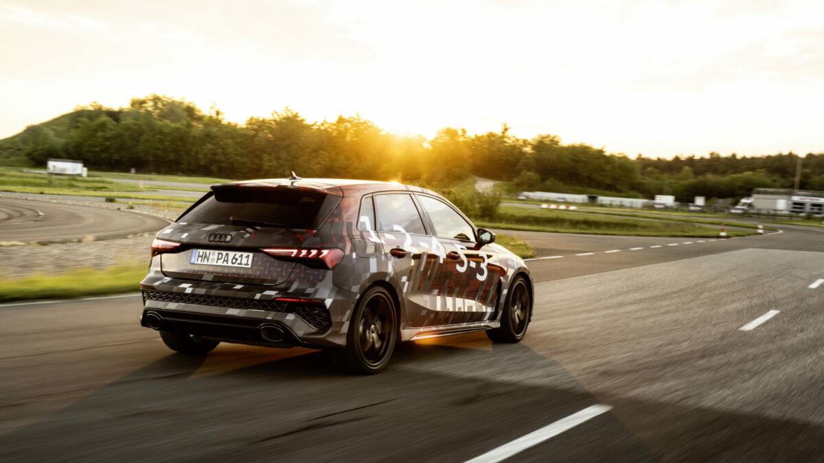 Audi RS 3 2021 trasera