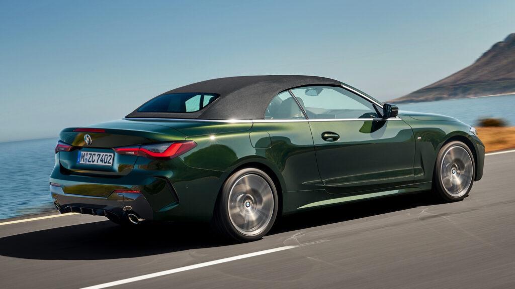 BMW Serie 4 2021 en marcha