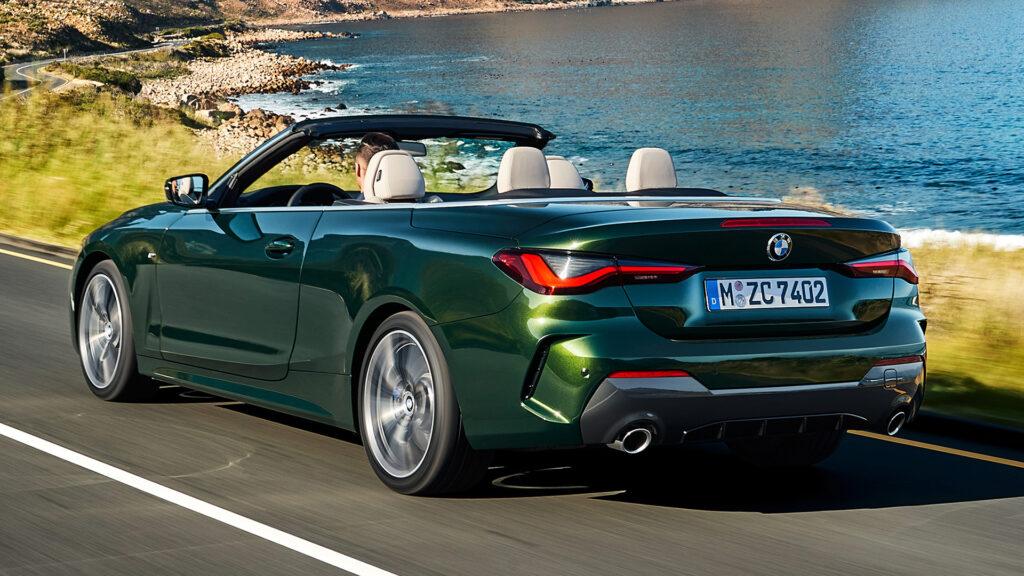 BMW Serie 4 2021 trasera
