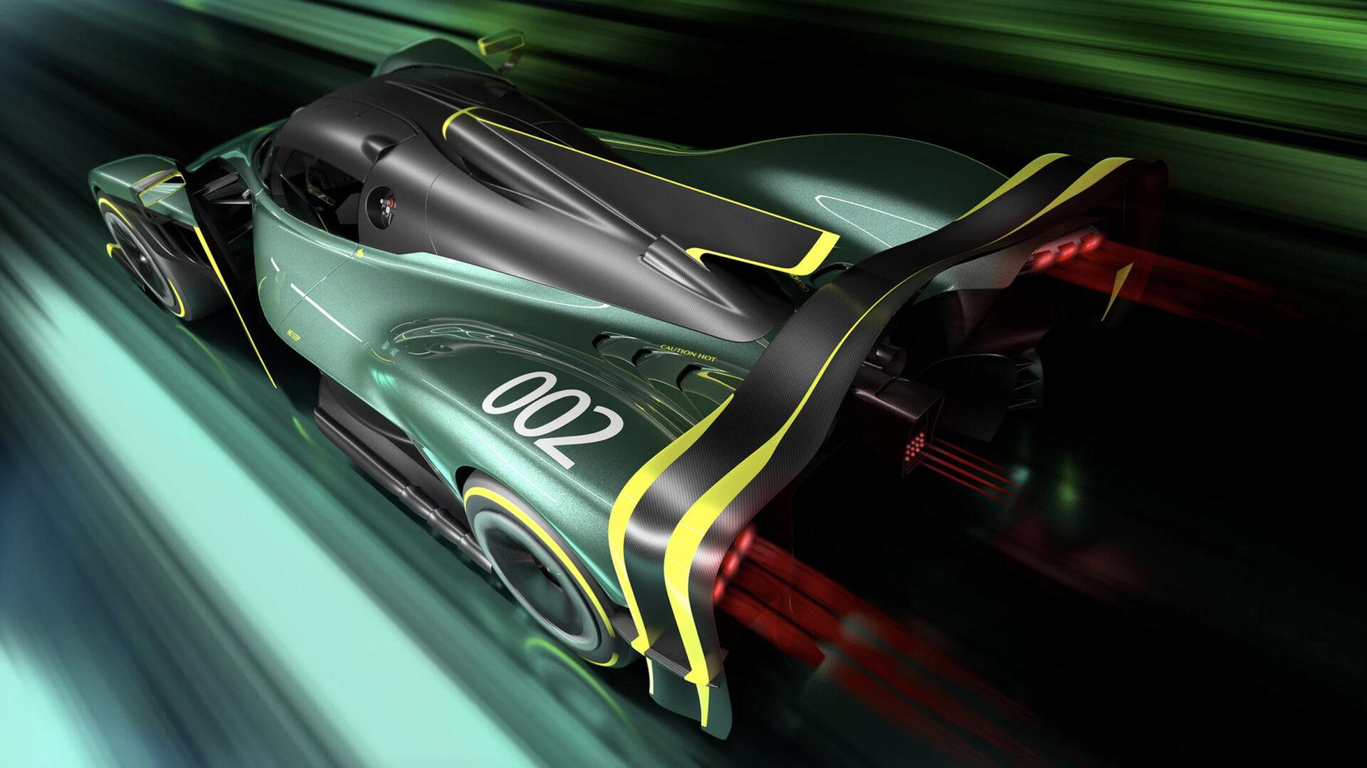 Aston Martin Valkyrie AMR Pro zaga