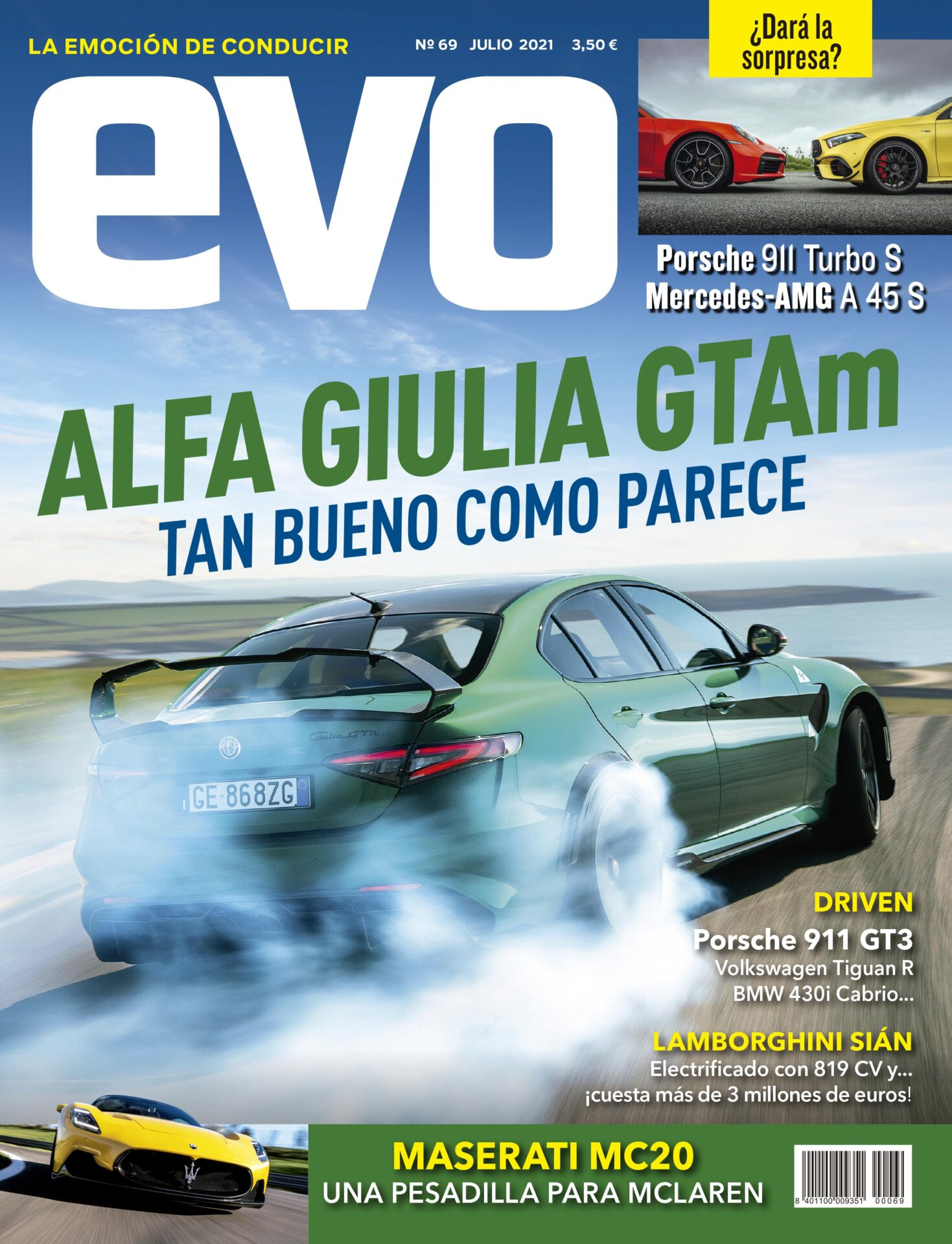 EVO 69: Alfa Giulia GTAm. Tan bueno como parece