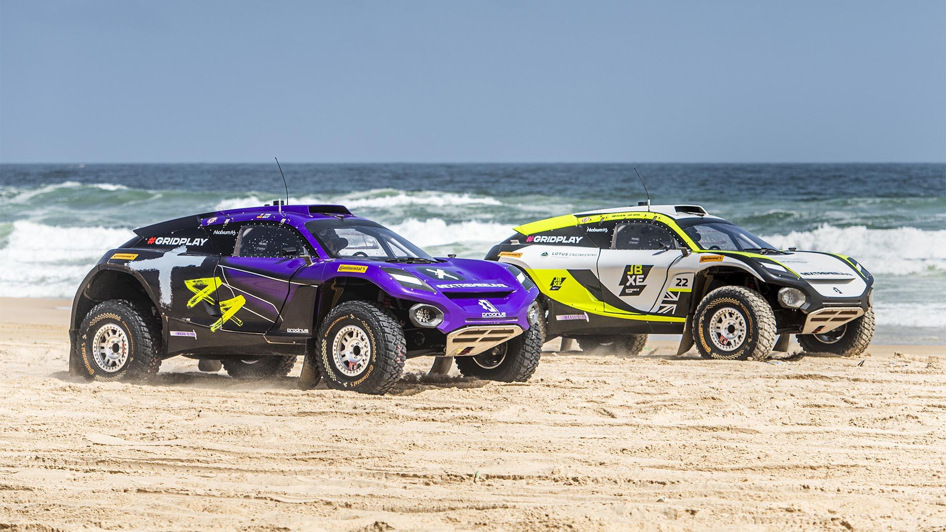 Extreme E Ocean X-Prix: Fibra, agua y arena en el Lago Rosa de Dakar