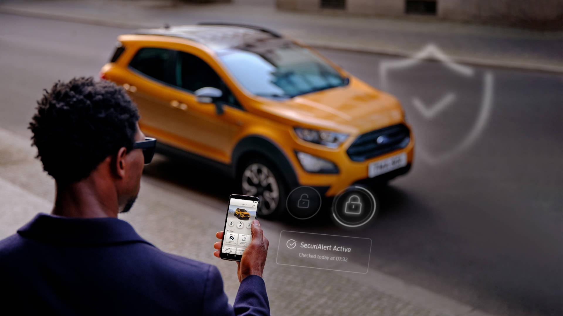 Ford SecuriAlert: tu smartphone como alarma antirrobo para el coche