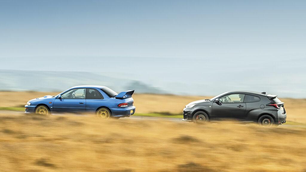 Fotos Toyota GR Yaris vs Subaru Impreza B22